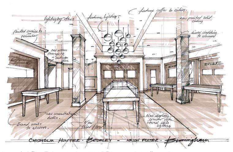 Chisholm Hunter Shop Design