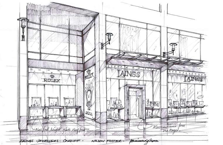 Laings Shop Design Cardiff